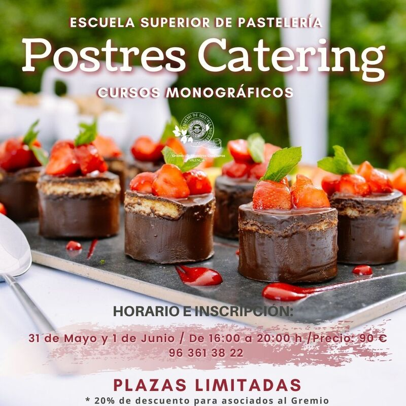 POSTRES CATERING