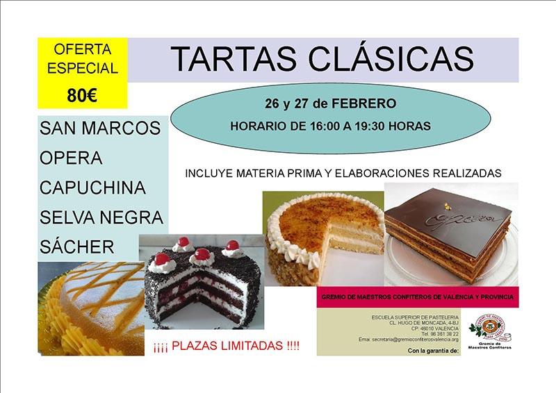 CURSO TARTAS CLÁSICAS