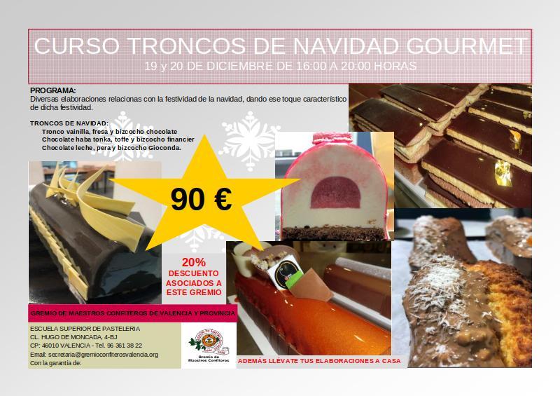 CURSO TRONCOS DE NAVIDAD GOURMET